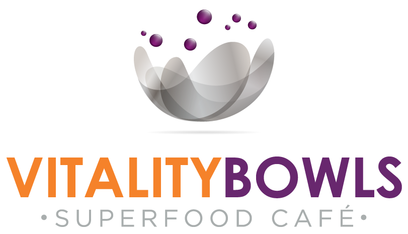 Vitality Bowls Logo- Superfood Cafe